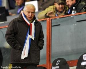 O presidente Riccardo Garrone (www.sampdoria.it)