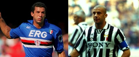 Gianluca Vialli trocou Gênova por Turim logo após a derrota blucerchiata na final da Copa dos Campeões de 1992