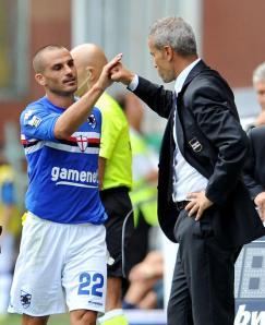 Bertani, melhor em campo, também fez dois gols (Il Secolo XIX)