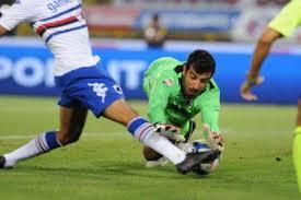 Presente do Curci 1 º Ponto da Sampdoria na temporada 2013/2014 Serie A Tim